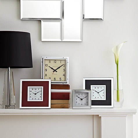 Buy London Clock Square Mirror Clock Online at johnlewis.com