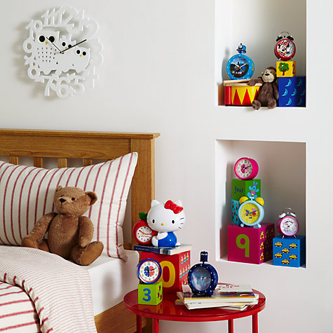 Buy Zeon Minnie Mouse Twin Bell Alarm Clock Online at johnlewis.com