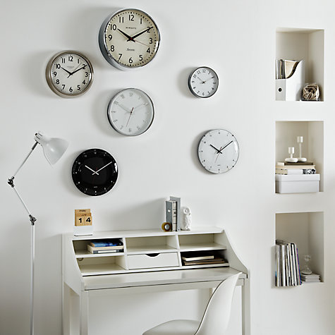 Buy John Lewis Chill Wall Clock, Dia.30cm Online at johnlewis.com
