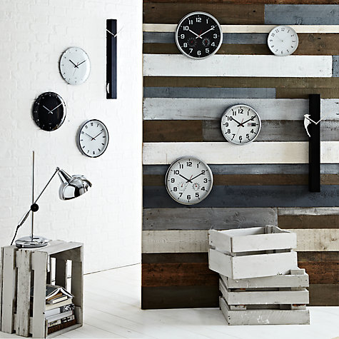 Buy John Lewis Shine Wall Clock, Dia.20.5cm Online at johnlewis.com