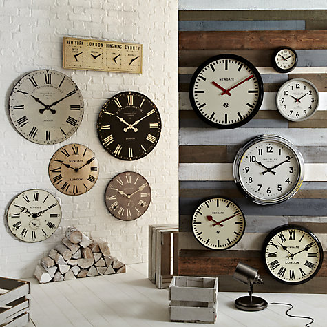 Buy Newgate Chelsea Wall Clock, Dia.50cm Online at johnlewis.com