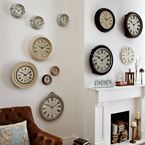 Buy John Lewis La Rochelle Wall Clock, Dia.35cm Online at johnlewis.com