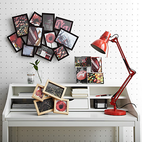 "Buy Umbra Flo Chrome Multi-aperture Frame, 4 photo, 4 x 6"" (10 x 15cm) Online at johnlewis.com"