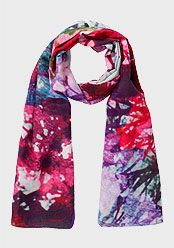 Front Row Society Remist Modal Scarf, Multi, £69