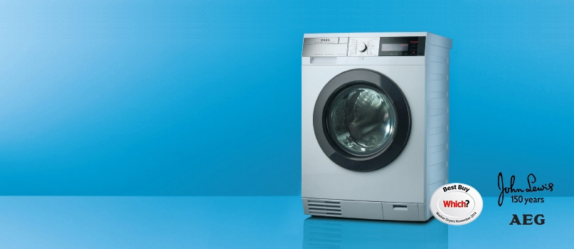 The most energy efficient washer dryer from AEG