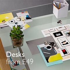 Desks from £49