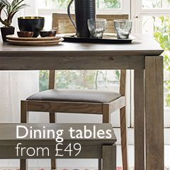 Dining Tables from £49
