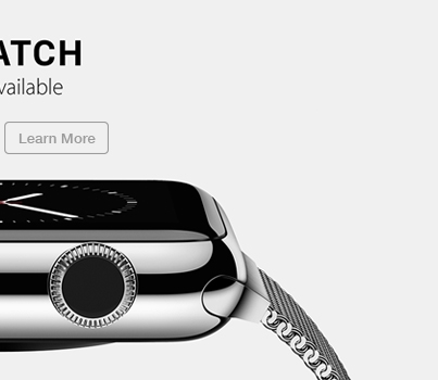 Apple Watch Learn More