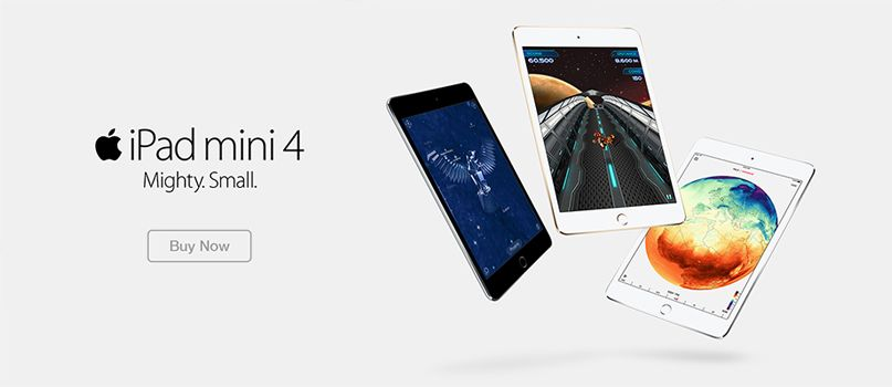 iPad Mini 4 - Buy Now