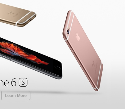 Apple iPhone 6S Learn More