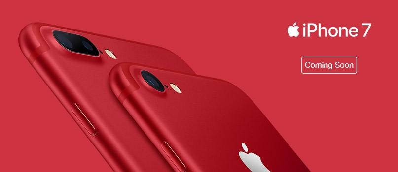 Apple iPhone 7 Red - Coming soon