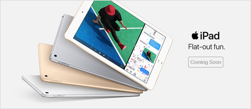 Apple iPad - Coming soon