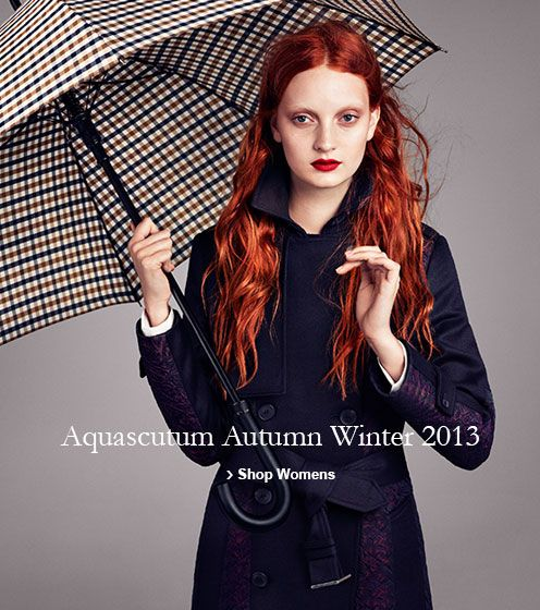 Aquascutum Autumn Winter 2013 Shop Women's