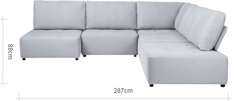Flex RHF Corner Chaise End Configuration