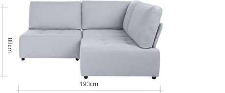 Flex Small Corner Sofa