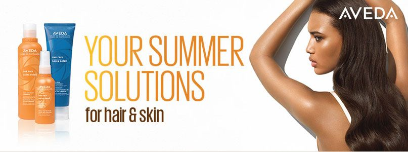 Your summer solutions for hair and skin