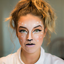 Halloween Make up - Get the Deer Look with Benefit