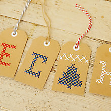 Buy How to make personalised gift tags Online at johnlewis.com