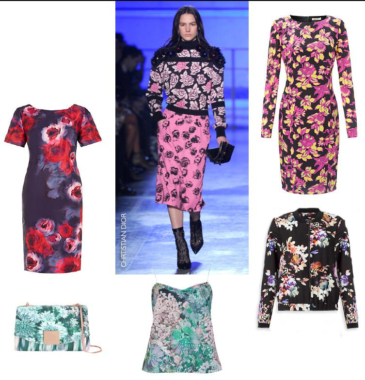 autumn winter trends floral bloom