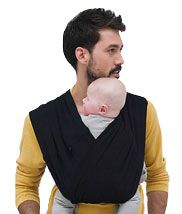 Babylonia Tri-cotti Baby Carrier, Black