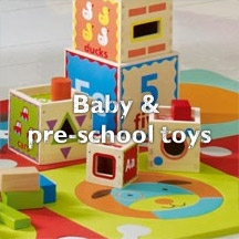 Baby and pre-school toys