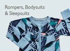 Rompers, Bodysuits  & Sleepsuits
