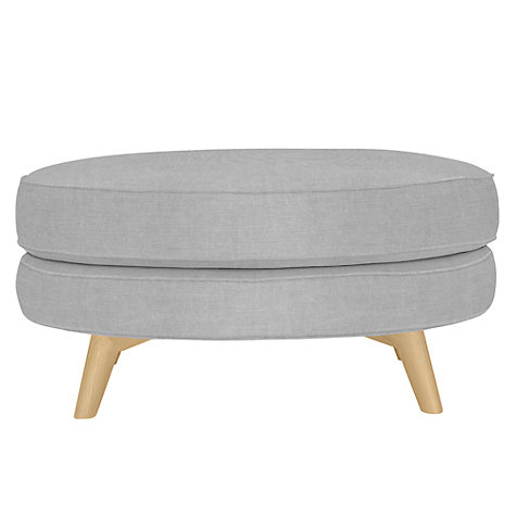 Buy John Lewis Barbican Large Round Footstool Online at johnlewis.com