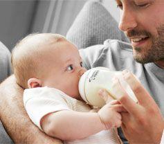 Bottle feeding article