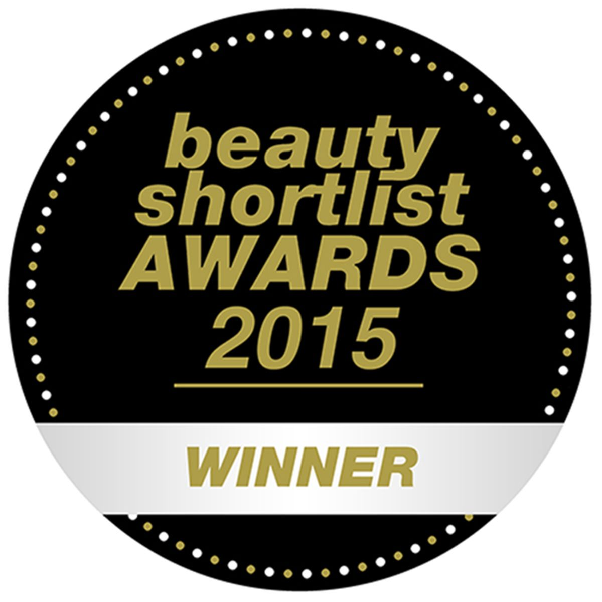 Beauty Shortlist Awards 2015 Winner