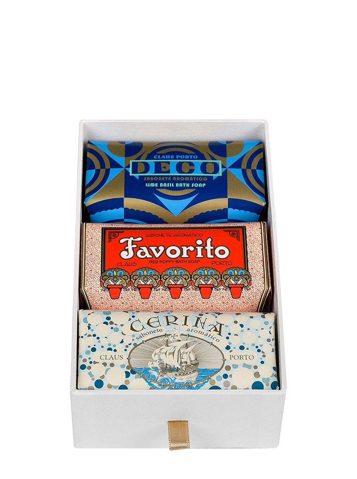 Claus Porto Deco Soap Bodycare Gift Set