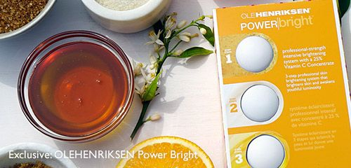 Exclusive: OLEHENRIKSEN Power Bright