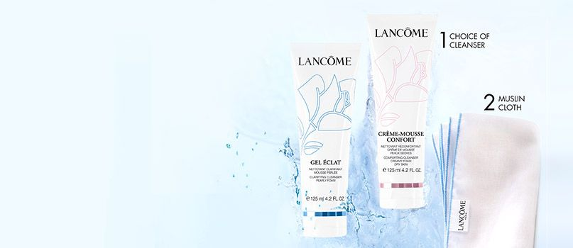 Lancôme Hot Cloth Cleansers