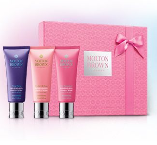 Molton Brown Hand Cream Trio