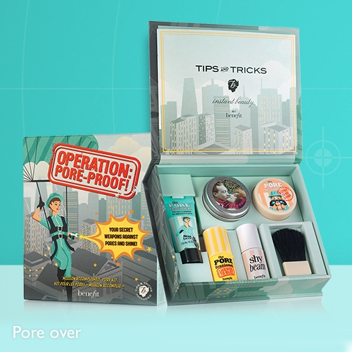 Benefit Operation Pore-Proof Gift Set