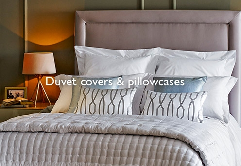 Duvet covers and pillowcases