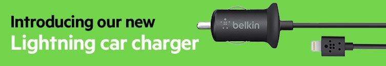 Introducing our new Lightning car charger