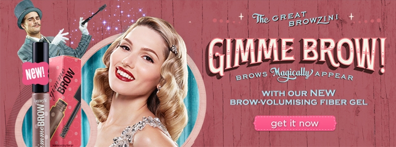 benefit - give me brow