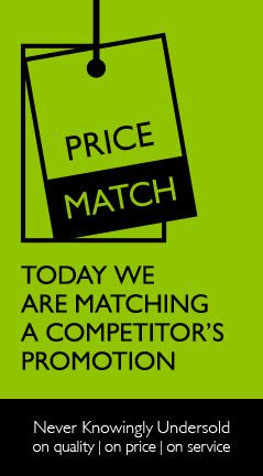 Price Match - Today we are matching a competitor%27s promotion