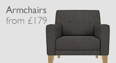 Armchairs from £179