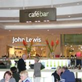 Catering: The Café bar, Ground floor