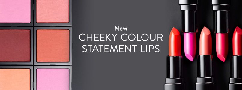 Cheeky colour statement lips