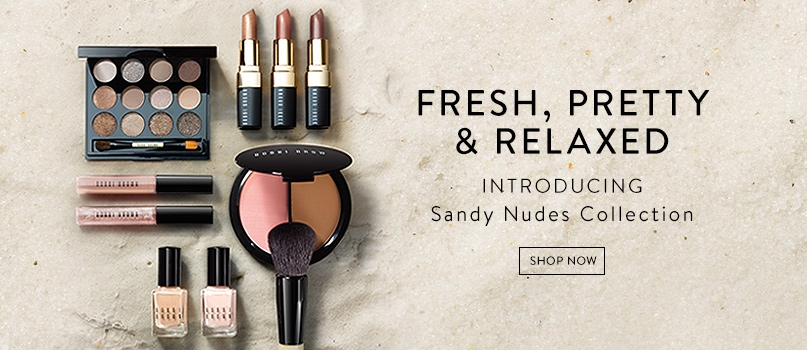 Fresh, pretty and relaxed. Introducing Sandy Nudes Collection