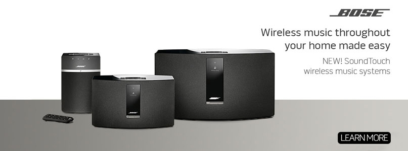 Bose wireless music throughout your home made easy