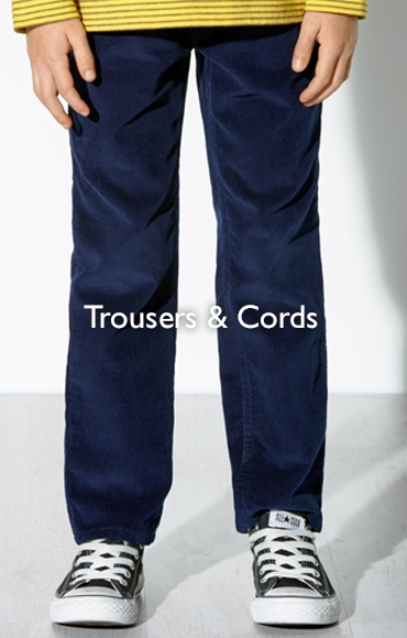 Trousers and cords