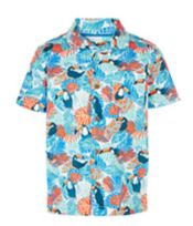 John Lewis Boys%27 Toucan Print Shirt, Multi <br>£14.00 - £16.00