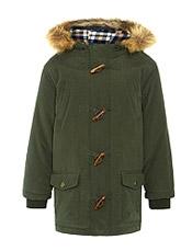 John Lewis Boy DuffleJacket, Khaki,<br>£38.00 - £40.00