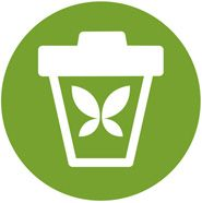 Reduces waste icon