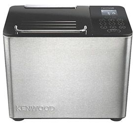 Kenwood BM450 Rapid Bake Bread Maker, Stainless Steel