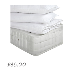 John Lewis Super Sleep Duvet and Pillows Set, 10.5 Tog £25.00- 40.00