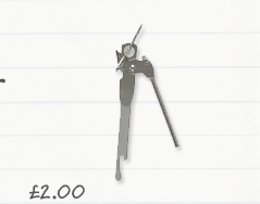 John Lewis Butterfly Can Opener £2.00